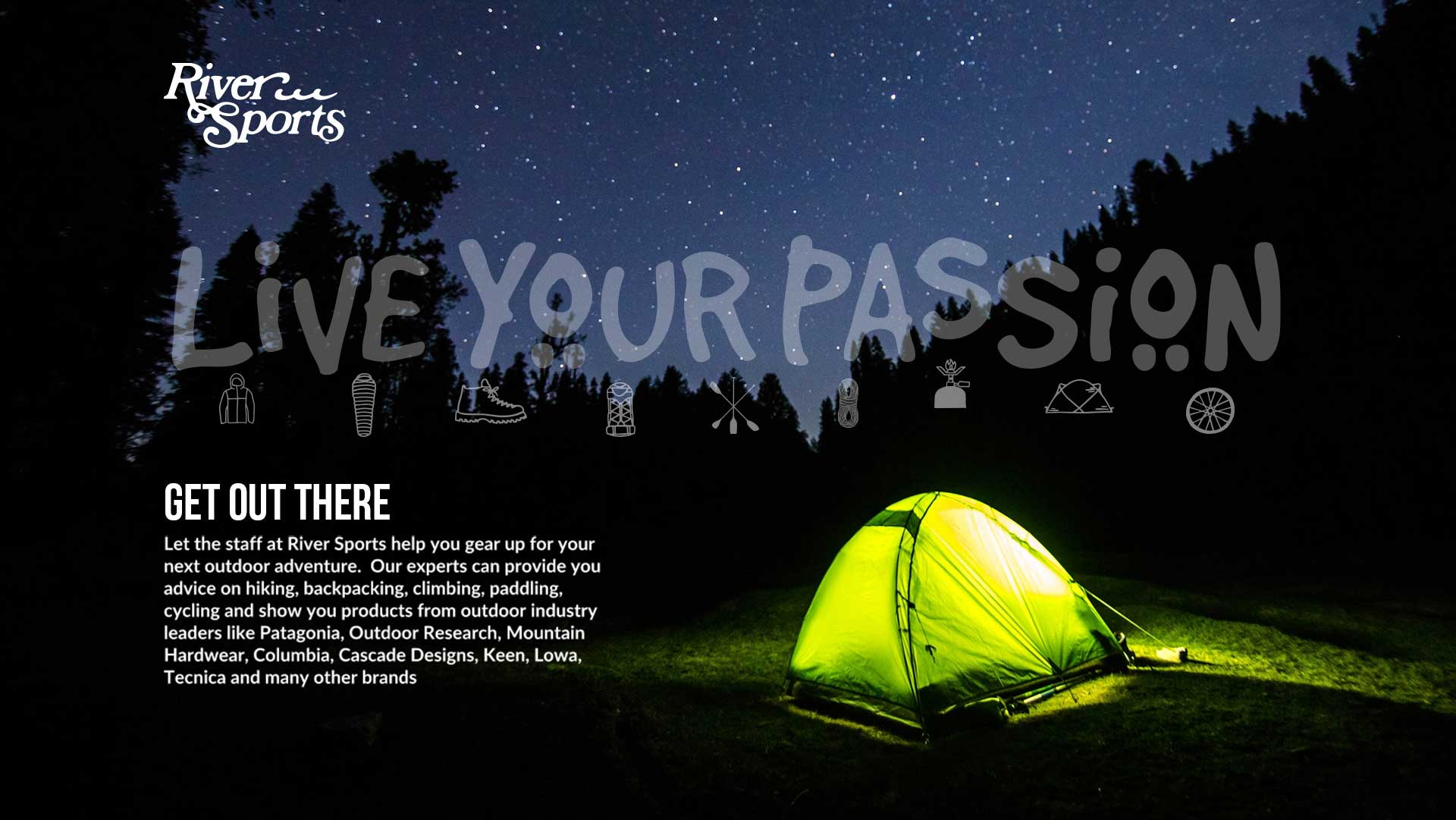 Live Your Passion - River Sports Outfitters